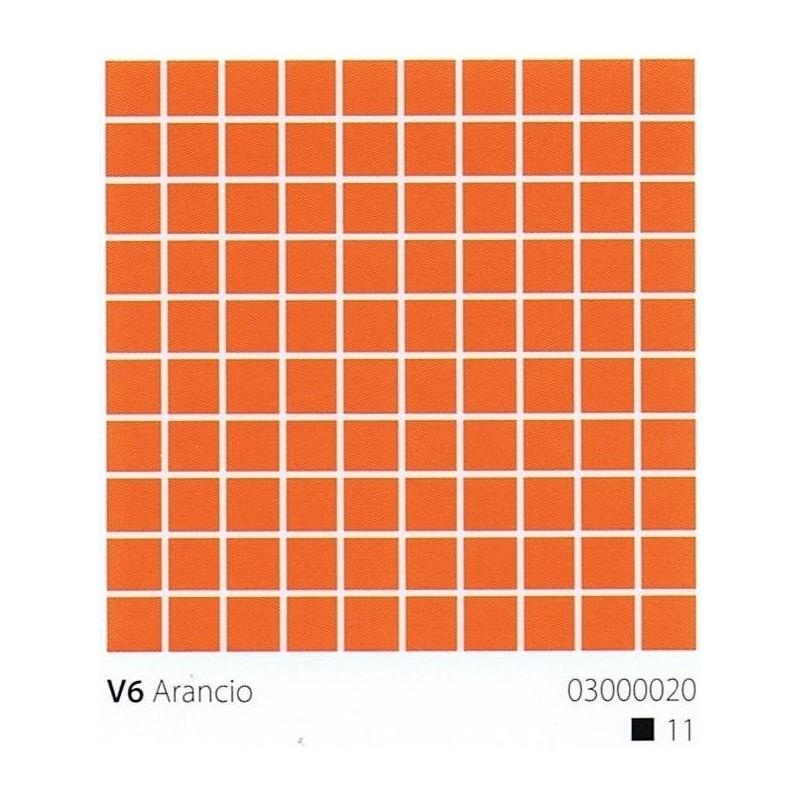 VITREX Skleněná mozaika 2x2cm V6 Arancio