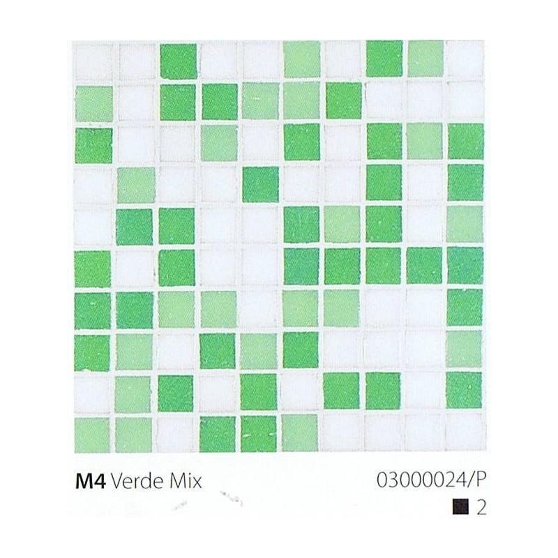 VITREX Skleněná mozaika 2x2cm M4 Verde Mix