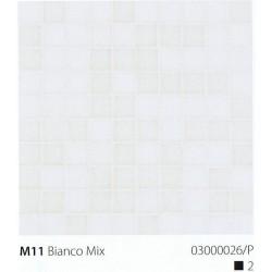 Skleněná mozaika 2x2cm M11 Bianco Mix
