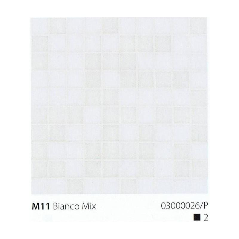VITREX Skleněná mozaika 2x2cm M11 Bianco Mix