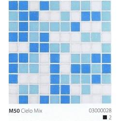 Skleněná mozaika 2x2cm M50 Cielo Mix