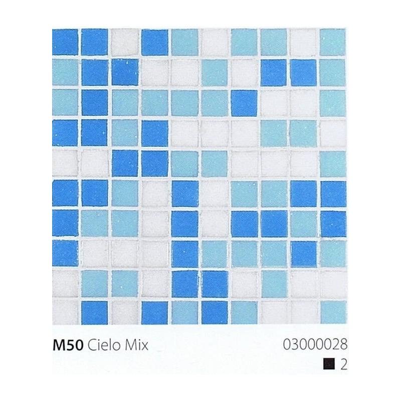 VITREX Skleněná mozaika 2x2cm M50 Cielo Mix