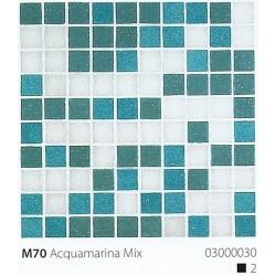 Skleněná mozaika 2x2cm M70 Acquamarina Mix