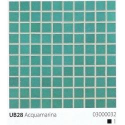 Skleněná mozaika 2x2cm UB28 Aquamarina