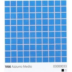 Skleněná mozaika 2x2cm V66 Azzurro Medio