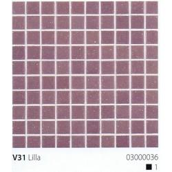Skleněná mozaika 2x2cm V31 Lilla