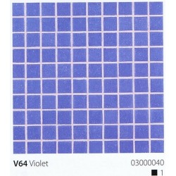 Skleněná mozaika 2x2cm V64 Violet