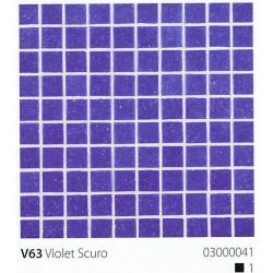 Skleněná mozaika 2x2cm V63 Violet Scuro