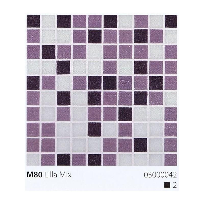 VITREX Skleněná mozaika 2x2cm M80 Lilla Mix