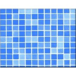 Fólie pro vyvařování bazénů - ALKORPLAN 3K - Byzance Blue, 1,65m šíře, 1,5mm, metráž