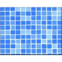 Fólie pro vyvařování bazénů - ALKORPLAN 3K Protiskluz - Byzance Blue, 1,65m šíře, 1,5mm, metráž