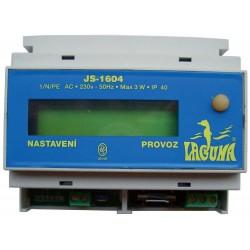 Měřící stanice Laguna - dig. bezchlor. úprava,do 150 m3,DIN lišta
