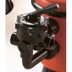 """Šesticestný ventil boční 2"""" rozteč P 125mm se šrouby"""