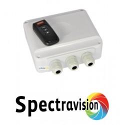 Dálkové ovládání + klíčenka pro světla Spectravision