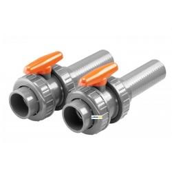 Kulové ventily – kit – BADU Jet Wave