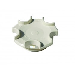 """Vtoková tryska plast - uzávěr pro základní prvky R11/2, ABS, """"O-kroužek"""""""