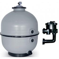 Filtrační zařízení - KIT MIDI 500,12 m3/h, 230 V, 6-ti cest. boč. ventil, čerp. Preva
