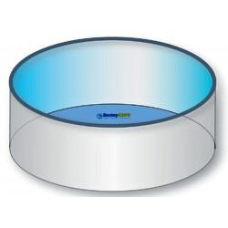 Náhradní bazénová fólie kruh 5,0x1,5m 0,6mm modrá