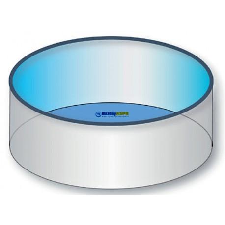 Náhradní bazénová fólie kruh 8,0x1,5m 0,8mm modrá