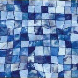 Fólie pro vyvařování bazénů - AVfol Decor - Mozaika Aqua Disco, 1,65m šíře, 1,5mm, metráž