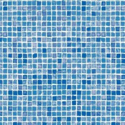 Fólie pro vyvařování bazénů - AVfol Decor - Mozaika Azur, 1,65m šíře, 1,5mm, metráž