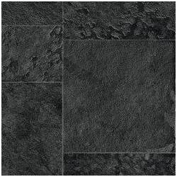 Fólie pro vyvařování bazénů - AVfol Relief - 3D Black Marmor Tiles, 1,65m šíře, 1,5mm, metráž