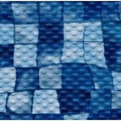 Fólie pro vyvařování bazénů - AVfol Decor Protiskluz - Mozaika Aqua Disco, 1,65m šíře, 1,5mm, metráž