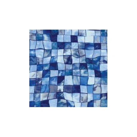 Fólie pro vyvařování bazénů - AVfol Decor - Mozaika Aqua Disco, 1,65m šíře, 1,5mm, 25m role