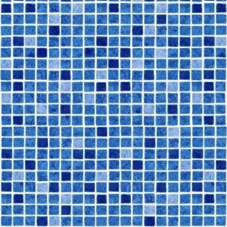 Fólie pro vyvařování bazénů - AVfol Decor - Mozaika Modrá, 1,65m šíře, 1,5mm, 25m role