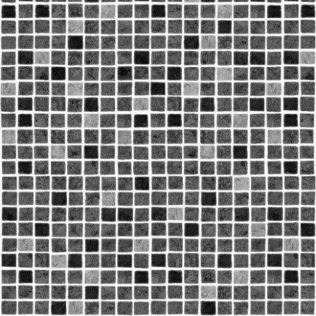 Fólie pro vyvařování bazénů - AVfol Decor - Mozaika Šedá, 1,65m šíře, 1,5mm, 25m role
