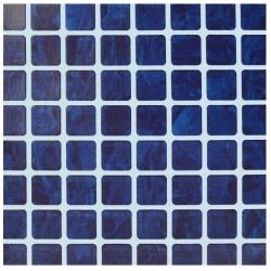 Fólie pro vyvařování bazénů - AVfol Relief - 3D Mozaika Dark Blue, 1,65m šíře, 1,6mm, 20m role