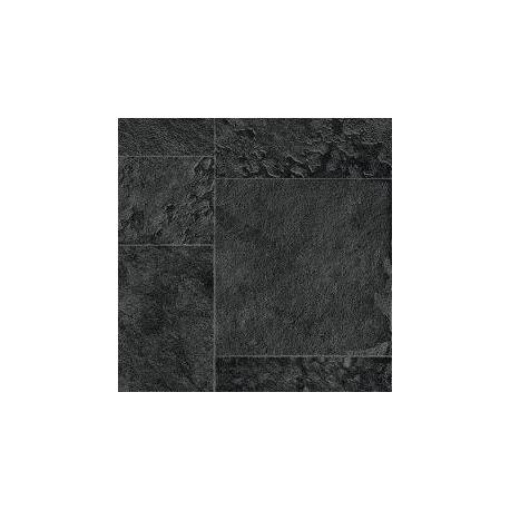 Fólie pro vyvařování bazénů - AVfol Relief - 3D Black Marmor Tiles, 1,65m šíře, 1,6mm, 20m role