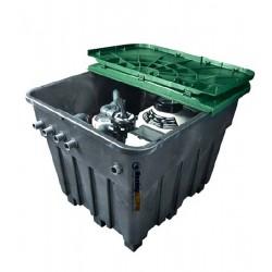 Strojovna bazénu zapuštěná plastová