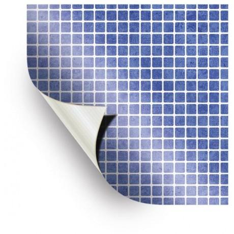 AVfol Relief - 3D Mozaika Light Blue, 1,65m šíře, 1,5mm, metráž