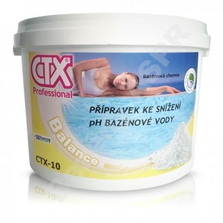 CTX-10 granulát snižující pH, pH...